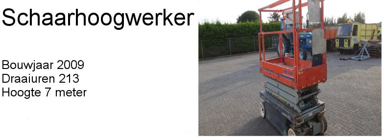 Schaarhoogwerker